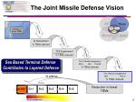 the joint missile defense vision