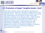 27 protection of aegis tangible assets cont