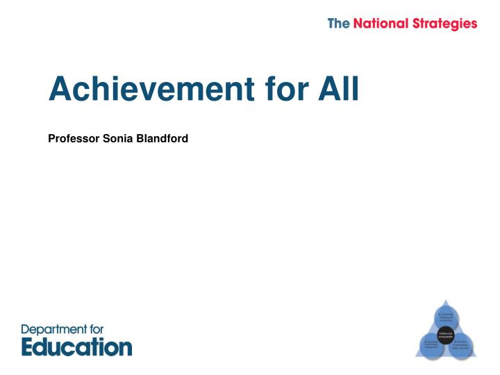 achievement for all n.