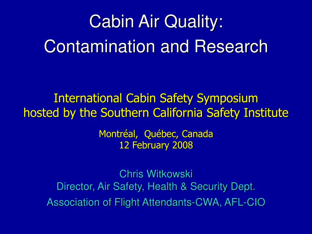 International Cabin Safety Symposium