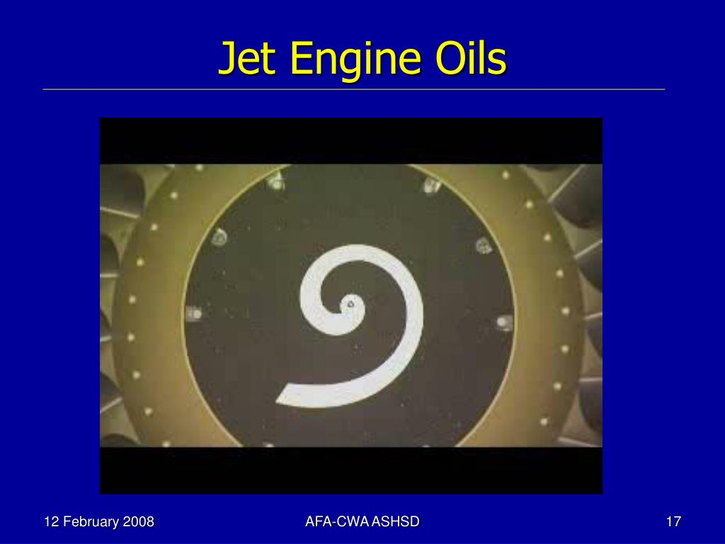 Jet Engine Oils