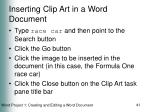 inserting clip art in a word document41