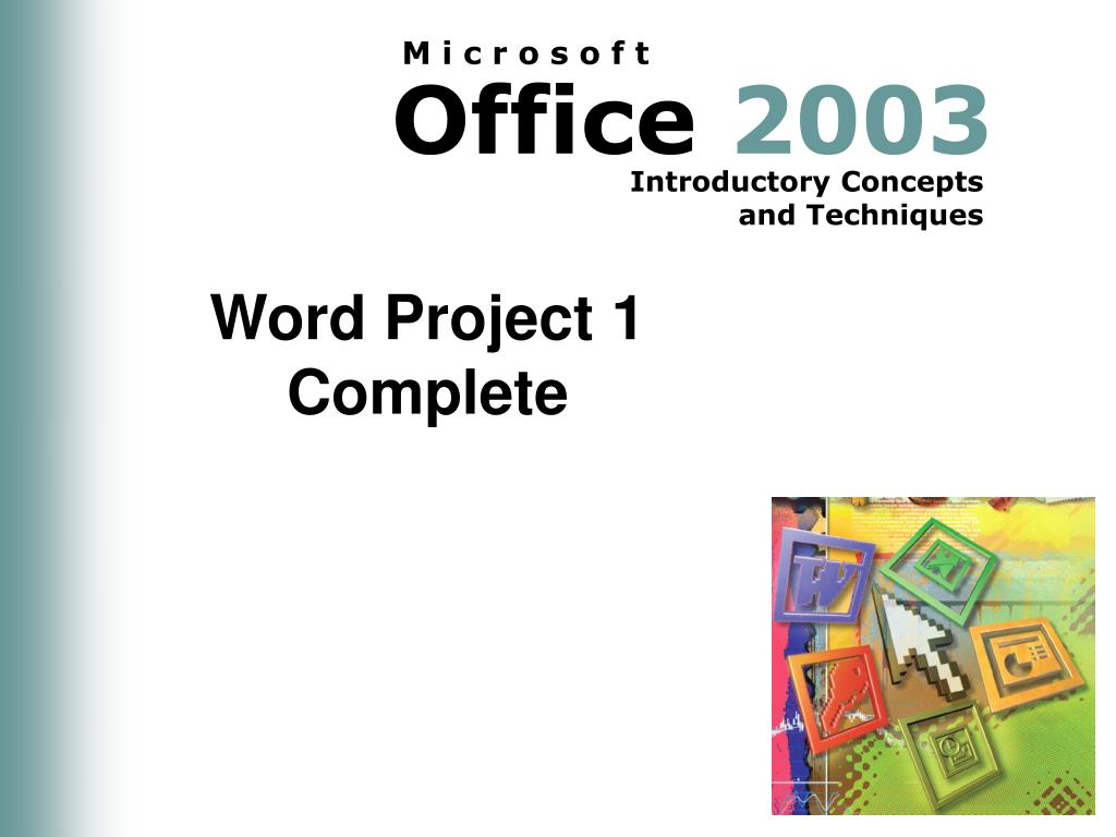 Word Project 1 Complete