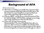 background of afa8