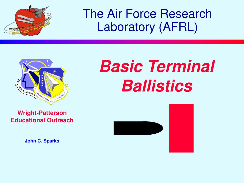 the air force research laboratory afrl l.