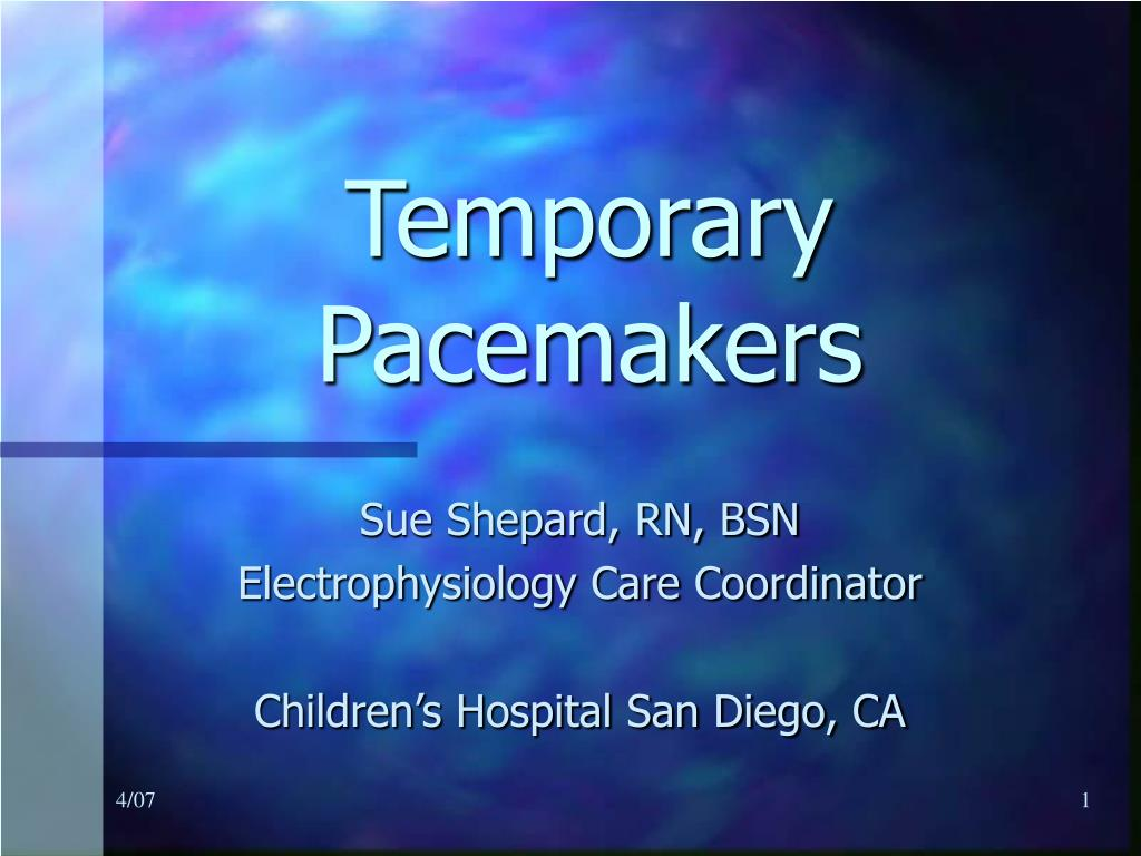 temporary pacemakers l.