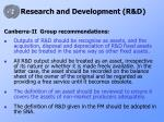 research and development r d10
