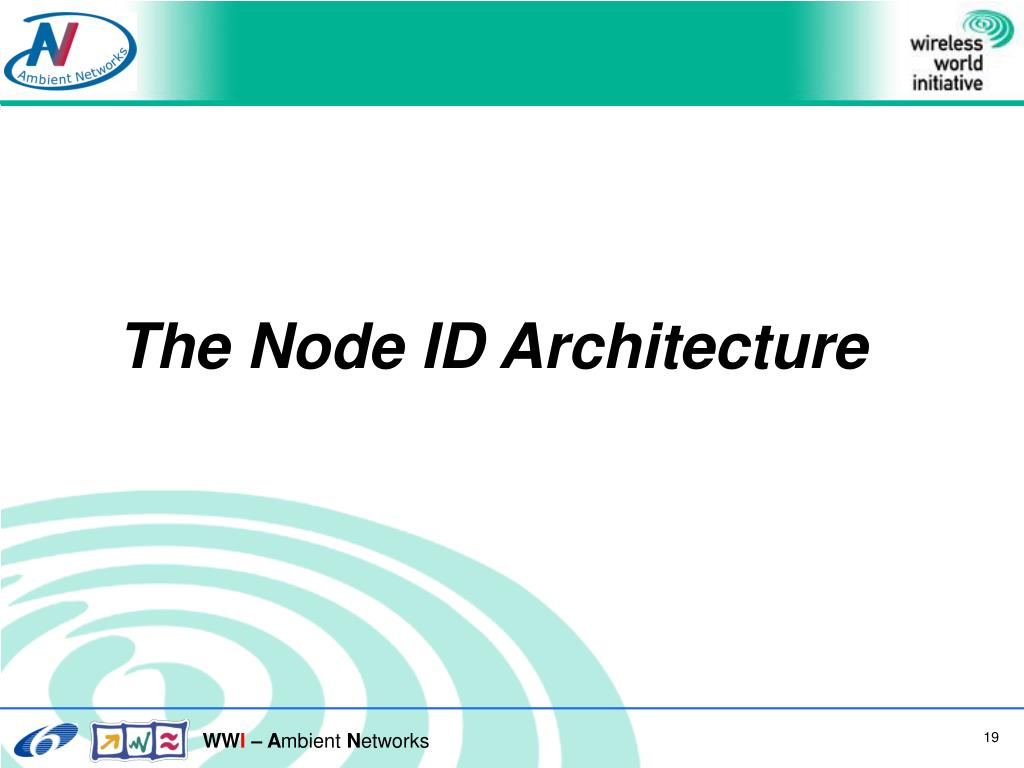 The Node ID Architecture
