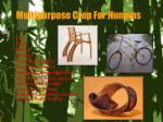multipurpose crop for humans