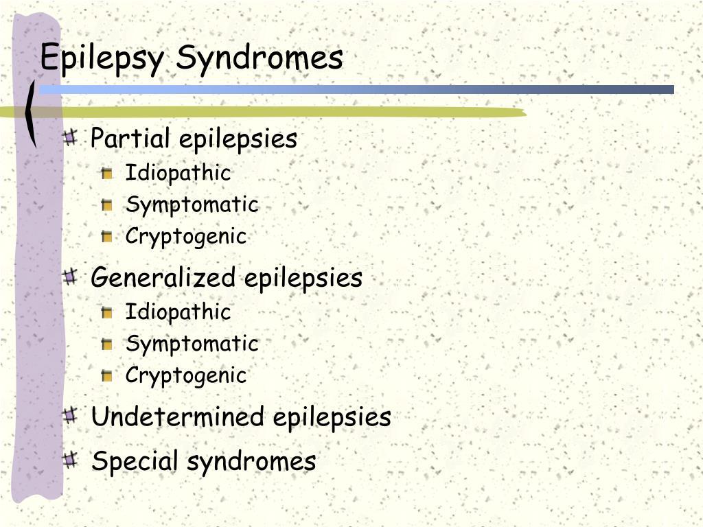 Epilepsy Syndromes