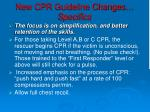 new cpr guideline changes specifics