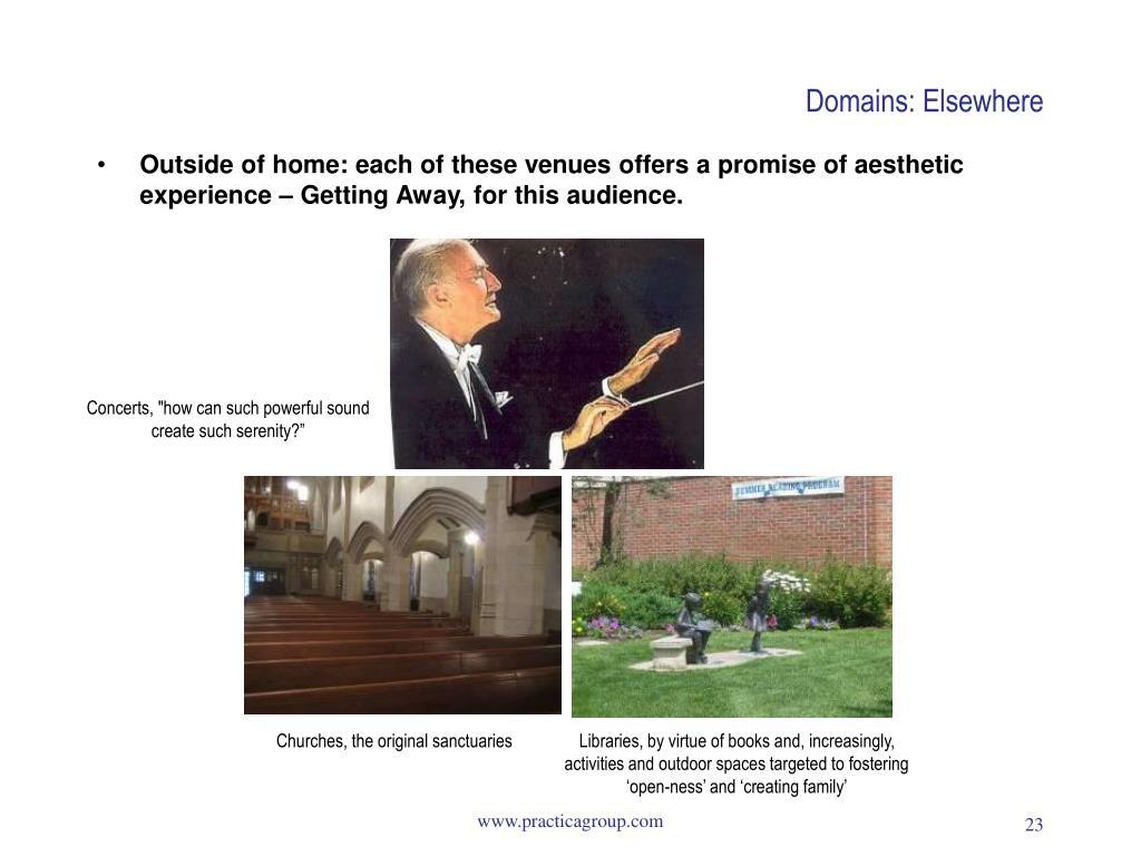 Domains: Elsewhere
