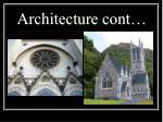 architecture cont
