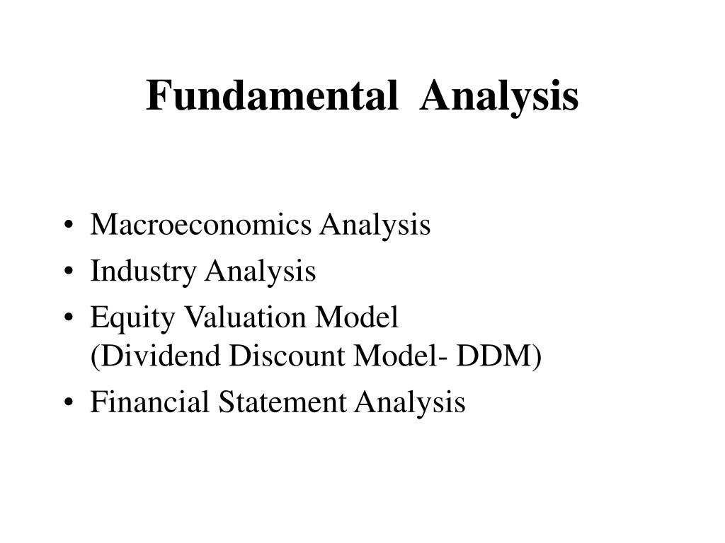 fundamental analysis l.