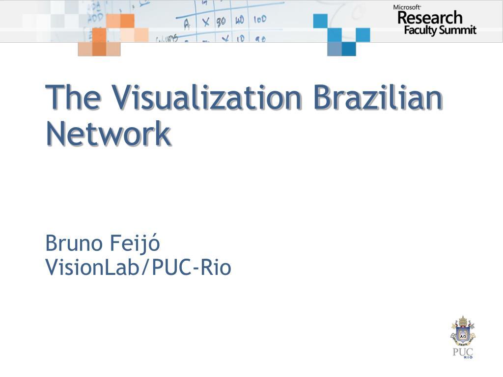 the visualization brazilian network l.
