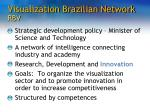 visualization brazilian network rbv