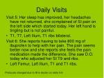 daily visits40