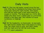 daily visits43