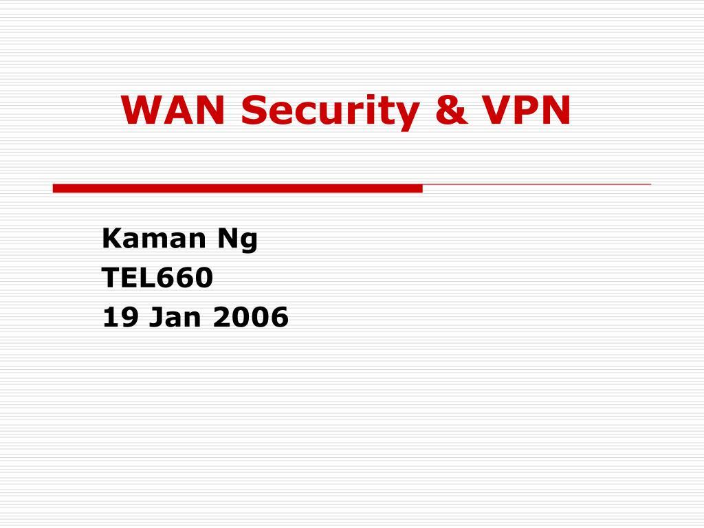 wan security vpn l.