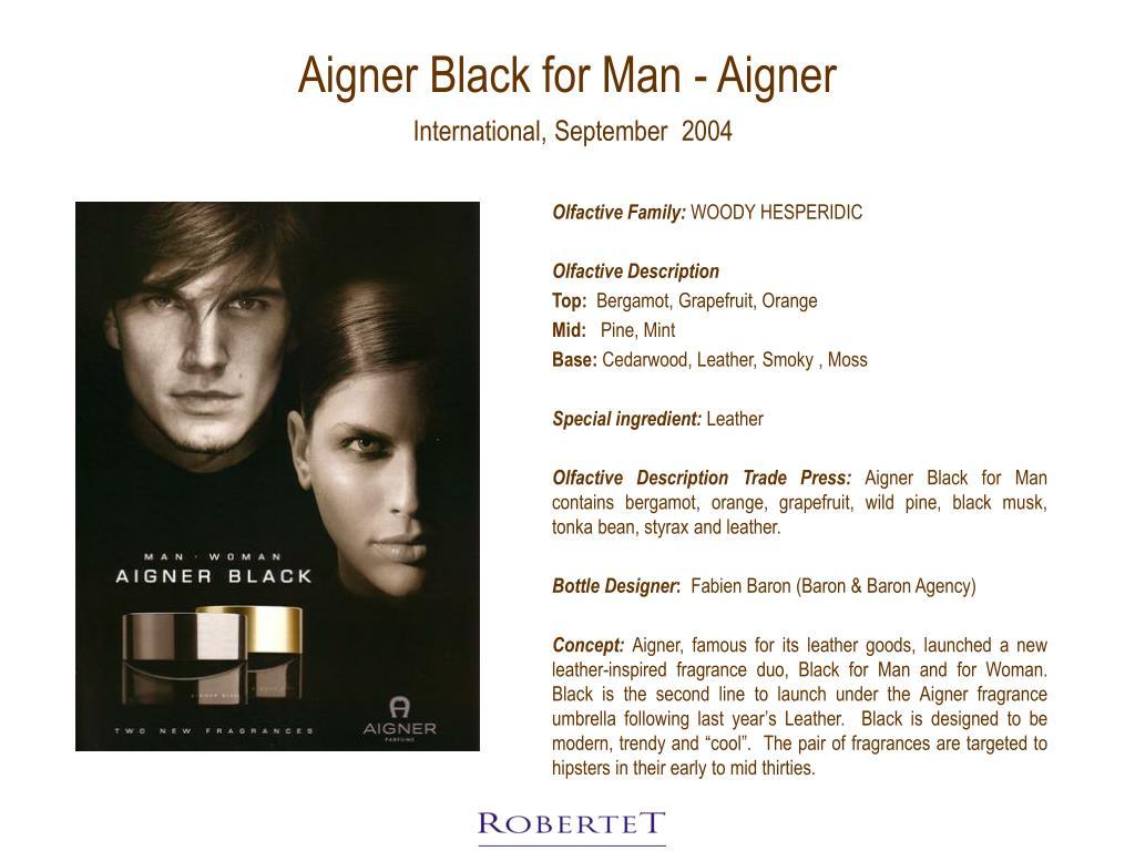 Aigner Black for Man - Aigner