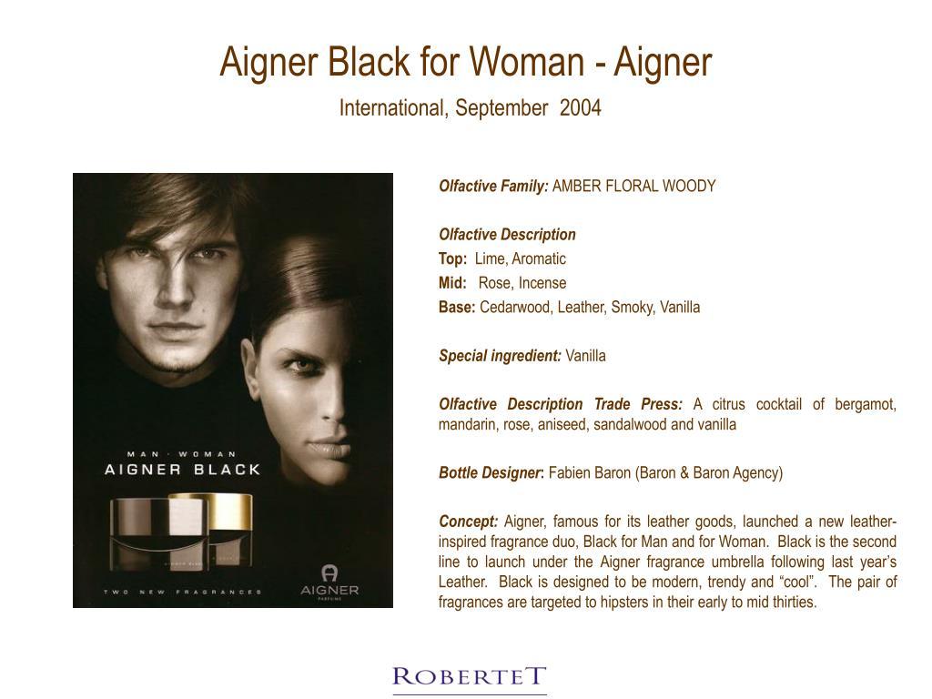 Aigner Black for Woman - Aigner