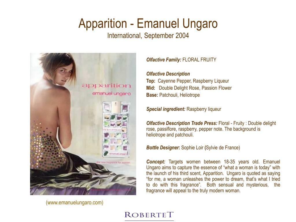 Apparition - Emanuel Ungaro