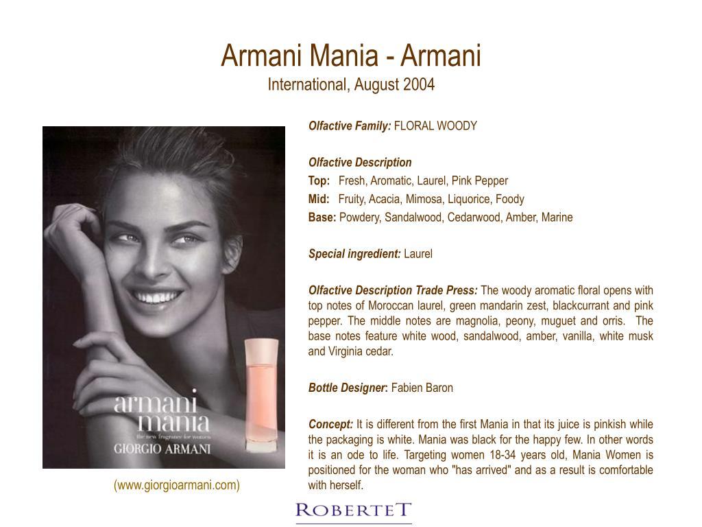 Armani Mania - Armani