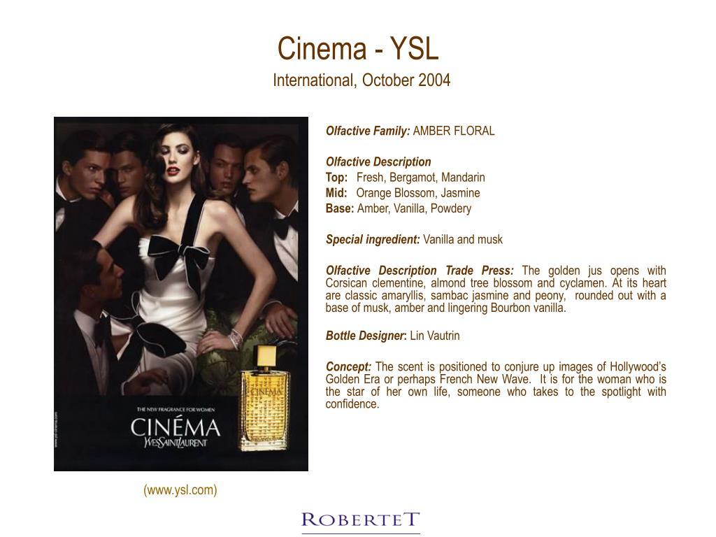 Cinema - YSL
