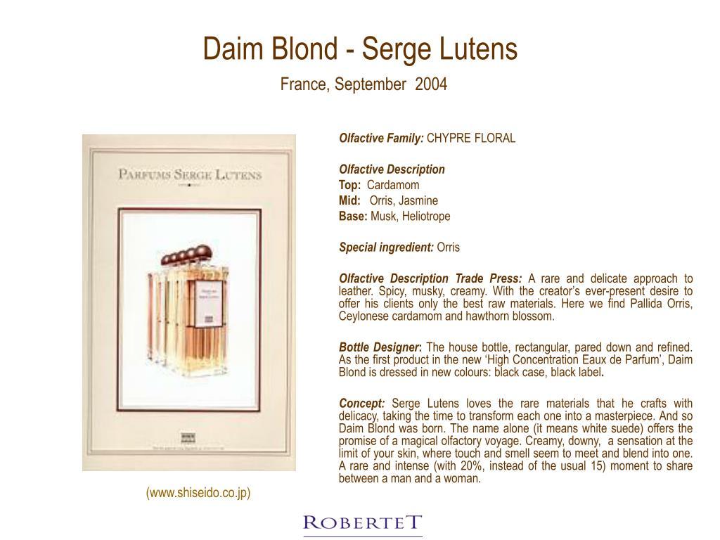 Daim Blond - Serge Lutens