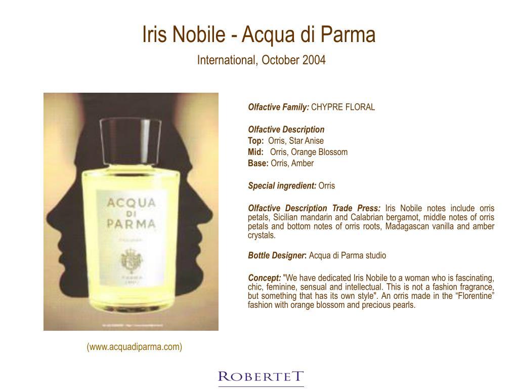 Iris Nobile - Acqua di Parma