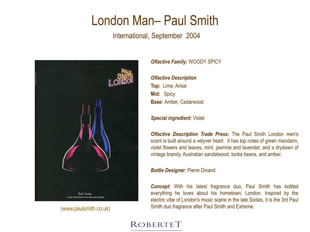 London Man– Paul Smith