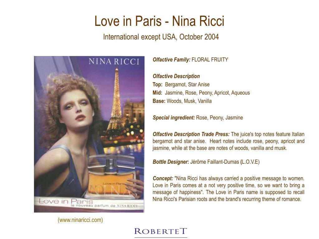 Love in Paris - Nina Ricci