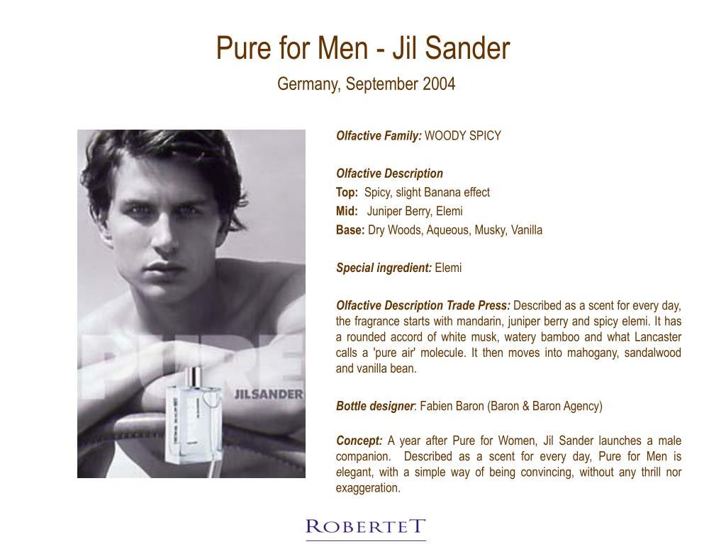 Pure for Men - Jil Sander