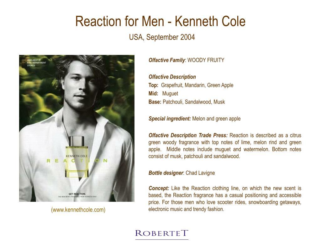 Reaction for Men - Kenneth Cole