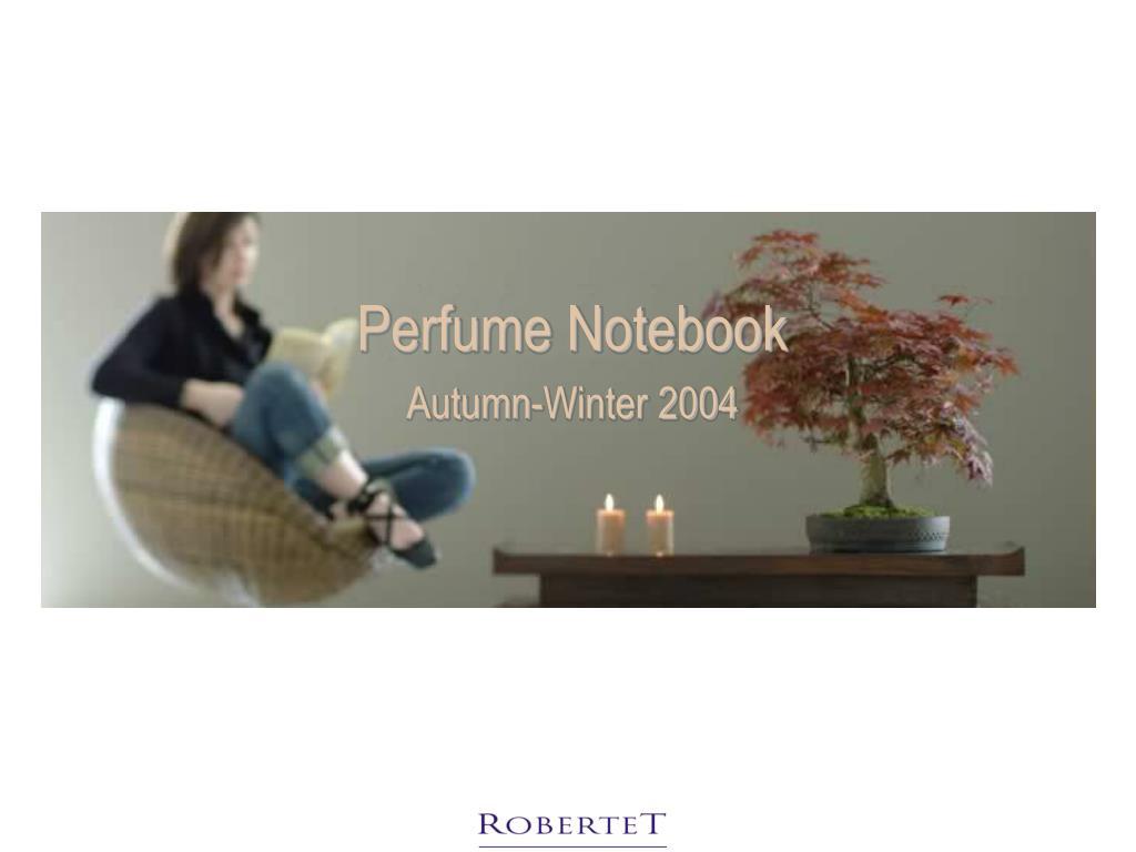 Perfume Notebook