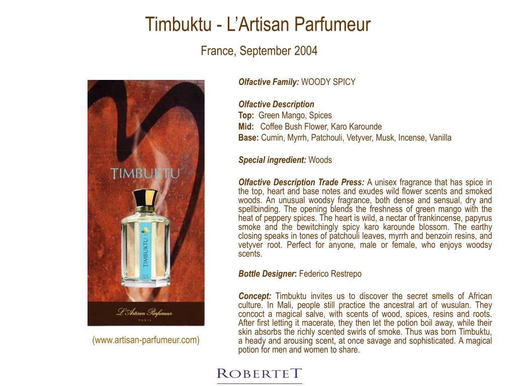 Timbuktu - L'Artisan Parfumeur
