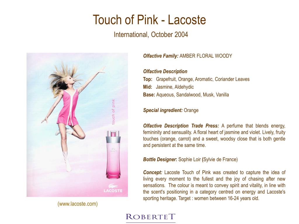 Touch of Pink - Lacoste