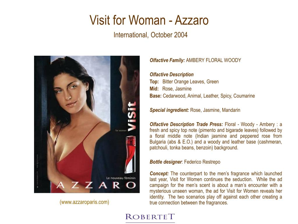 Visit for Woman - Azzaro