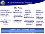 aviation allowance process20