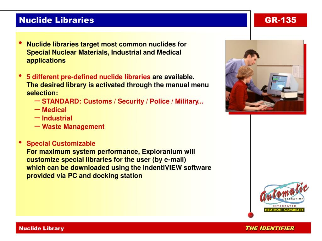 Nuclide Library