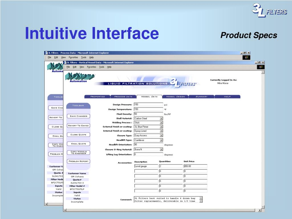 Intuitive Interface