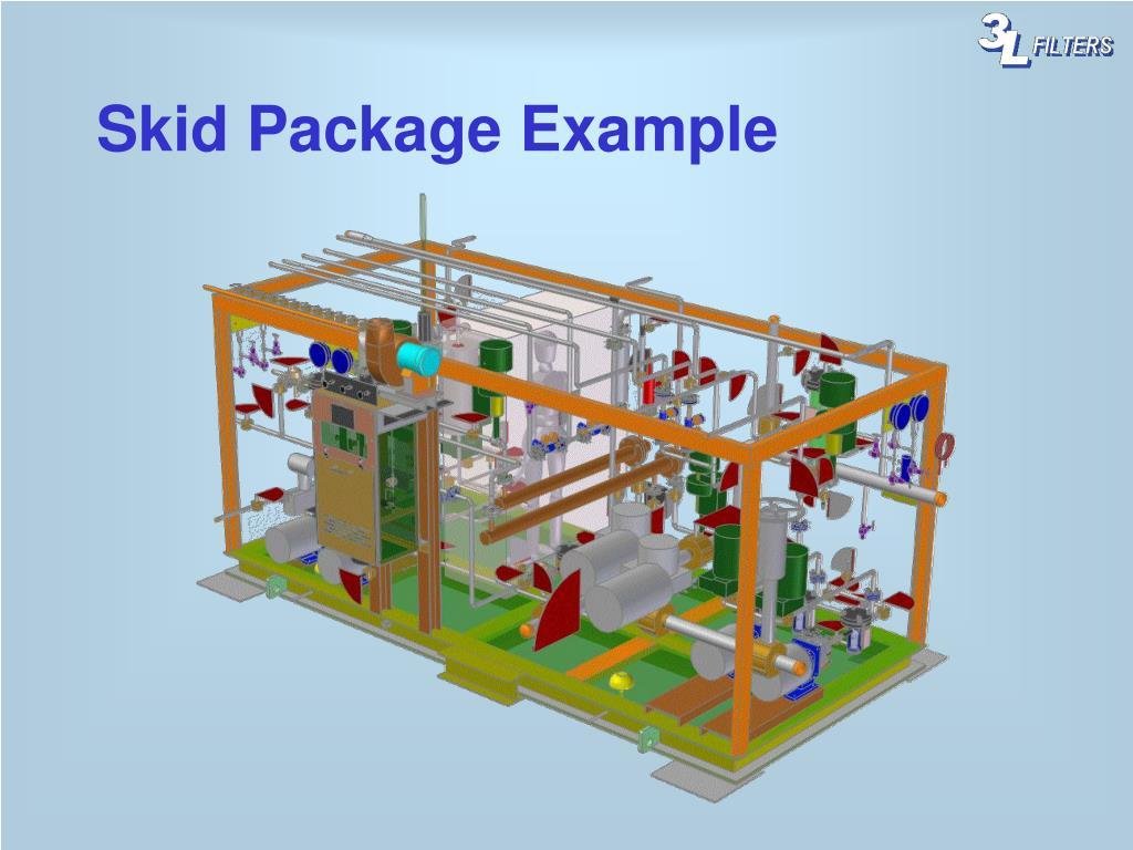 Skid Package Example