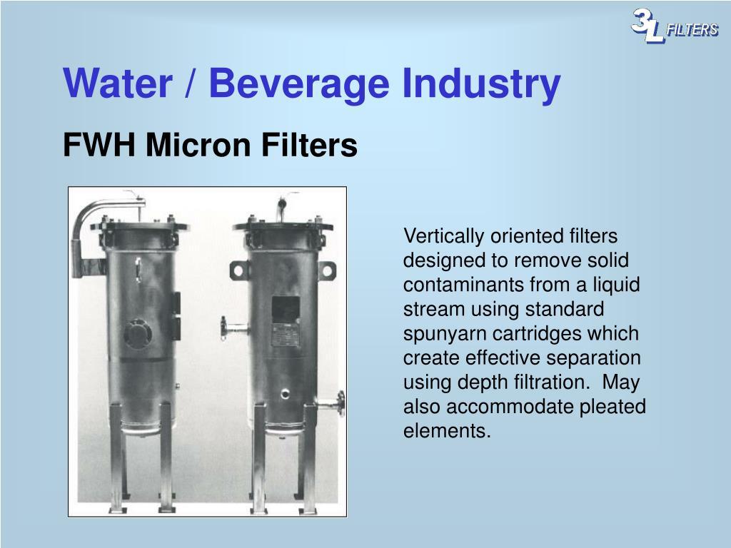 Water / Beverage Industry