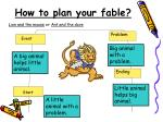 how to plan your fable