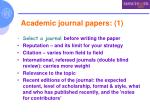 academic journal papers 1