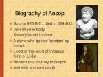 biography of aesop