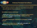 undersea persistent surveillance
