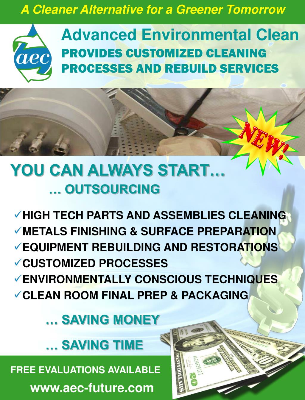 provides customized cleaning processes and rebuild services l.