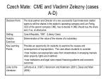 czech mate cme and vladimir zelezny cases a d