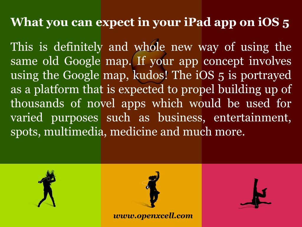 What you can expect in your iPad app on iOS 5